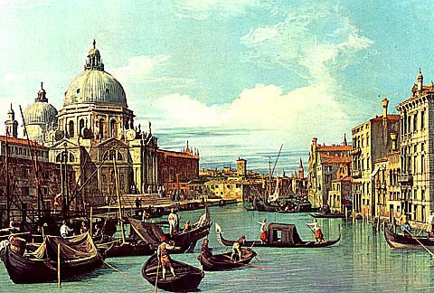Canaletto-The Grand Canal