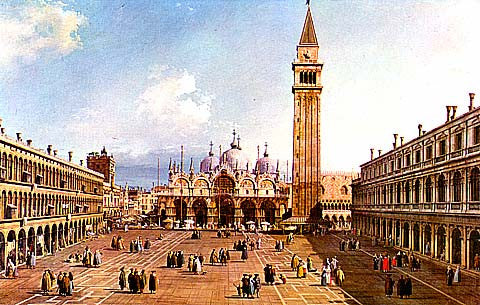Canaletto- St Marks Square