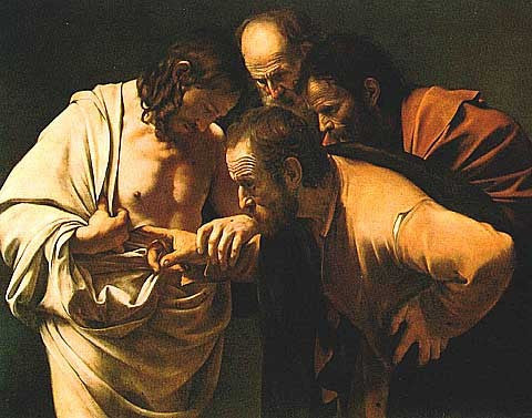 Caravaggio-The Incredulity of Saint Thomas