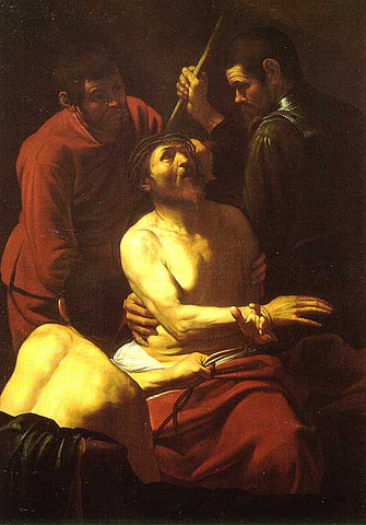 Caravaggio-Crowning With Thorns