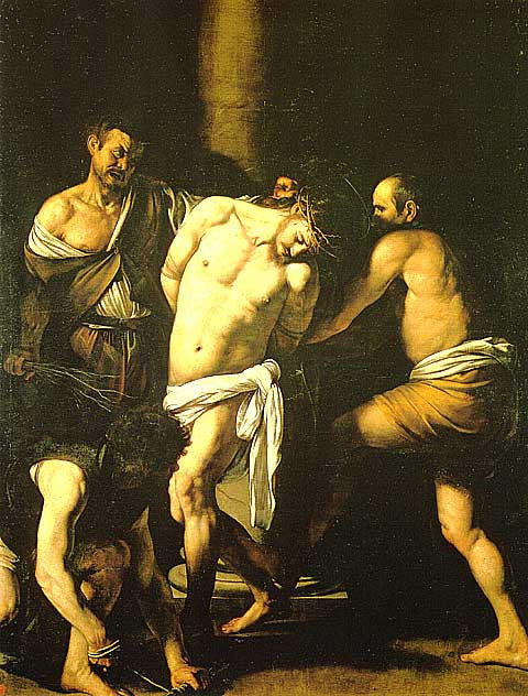 Caravaggio-Flagellation Of Christ