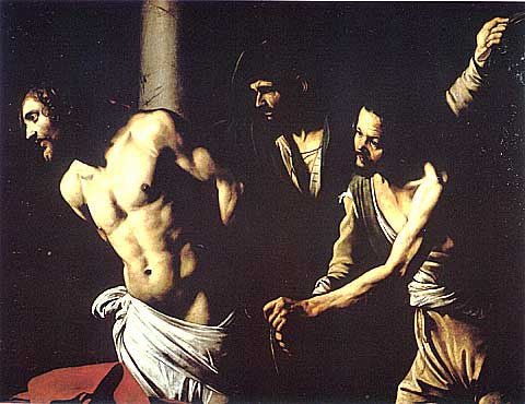 Caravaggio-Christ At The Column
