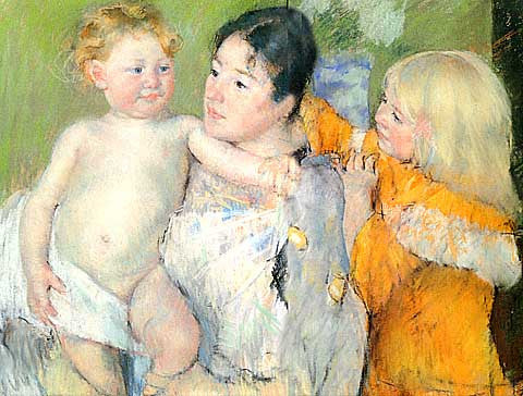 Mary Cassatt-After The Bath