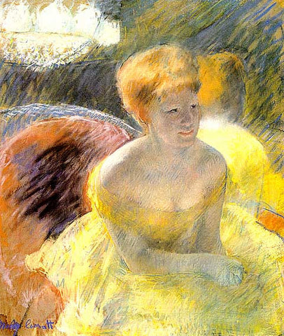 Mary Cassatt- At The Theater