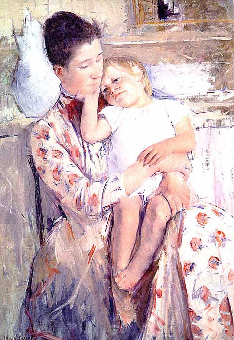 Mary Cassatt-Mother and Child