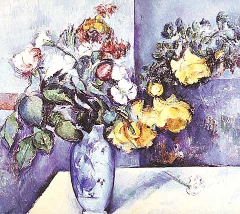 Paul Cezanne-Flowers