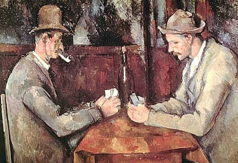 Paul Cezanne-The Card Players