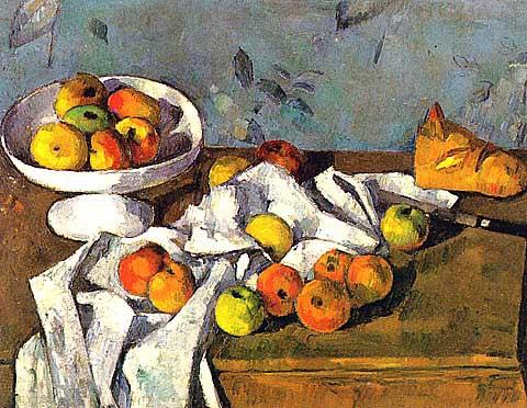 Paul Cezanne-Still Life With Bowl