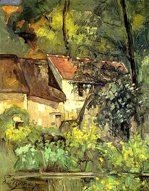 Paul Cezanne-House Of Pere Lacroix