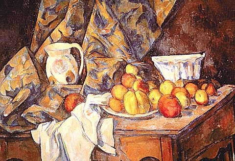 Paul Cezanne-Apples And Peaches