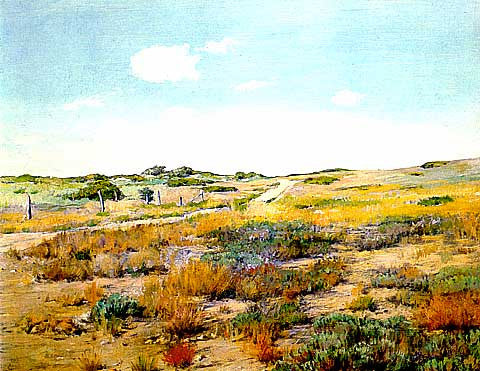 William Merritt Chase-Shinnecock Hills