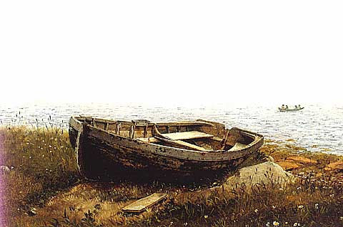 Edwin Church-The Old Boat