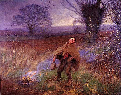 George Clausen-Bird Scaring