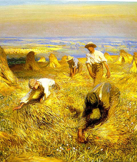 George Clausen-Harvest