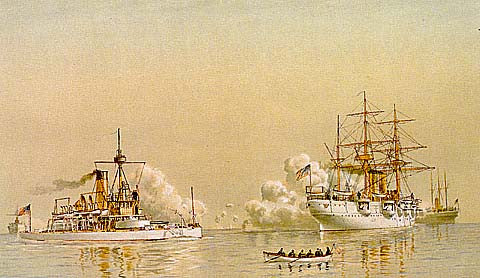 F. S. Cozzens-The Great White Fleet