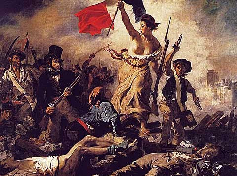 Delacroix-Liberty Leading the People