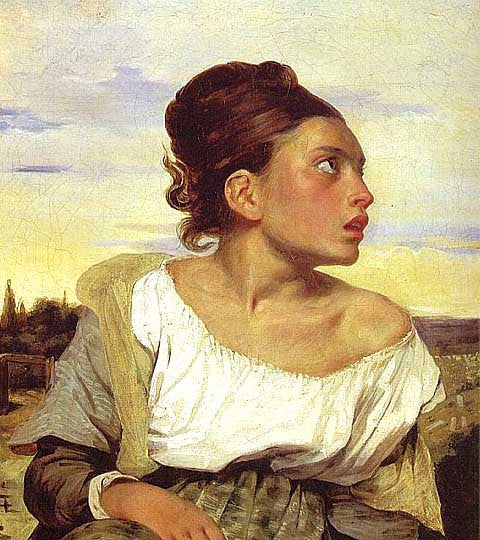 Delacroix-Orphan Girl at the Cemetery