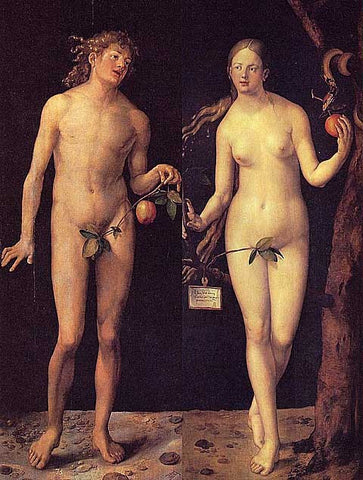 Albrecht Durer-Adam and Eve
