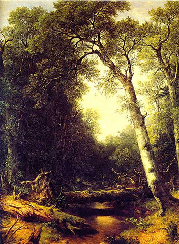 Asher Durand-A Creek In The Woods