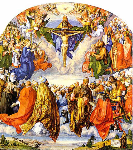 Albrecht Durer- Adoration of the Trinity