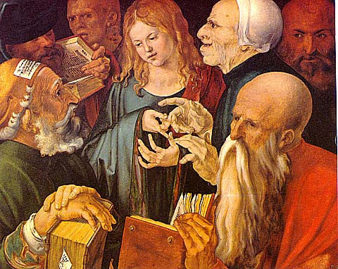 Albrecht Durer-Christ With The Doctors