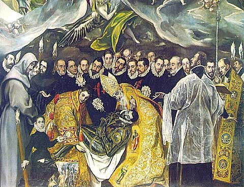El Greco-The Burial Of Count Orgasz