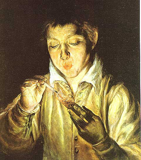 El Greco-Boy Lighting a Candle