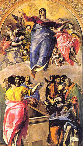 El Greco-The Assumption Of The Virgin