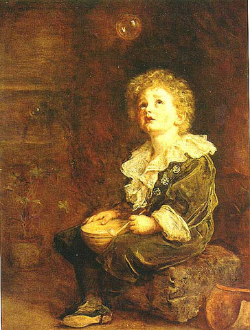 John Everett Millais-Bubbles