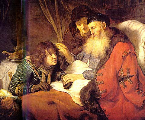 G. Flinck-Isaac Blessing Jacob