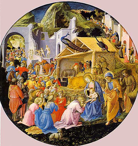 Fra Angelico-The Adoration Of The Magi