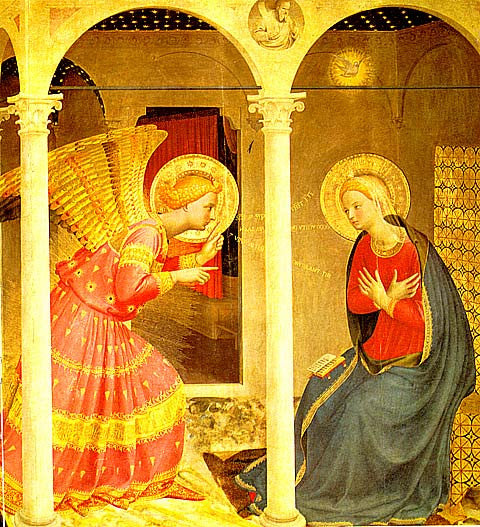 Fra Angelico-The Annunciation
