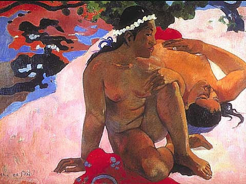 Paul Gauguin-Are You Jealous