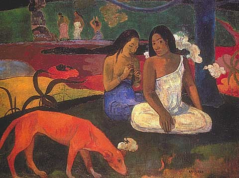 Paul Gauguin-Arearea