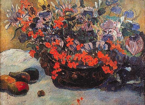 Paul Gauguin-Bouquet Of Flowers