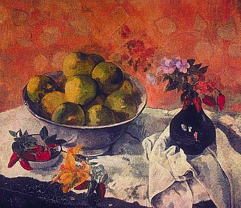 Paul Gauguin-Still Life