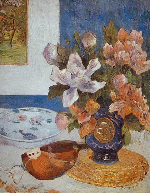 Paul Gauguin-Still Life With Mandolin
