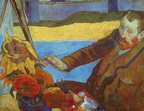 Paul Gauguin-Van Gogh Painting