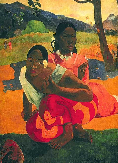 Paul Gauguin- When Will You Marry