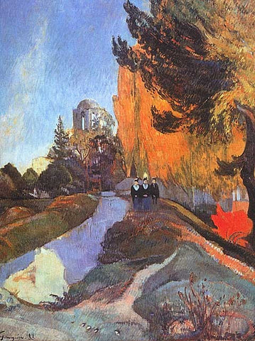Paul Gauguin-Les Alyscamps