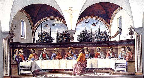 Ghirlandaio-The Last Supper
