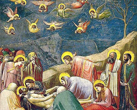 Giotto-The Mourning of Christ