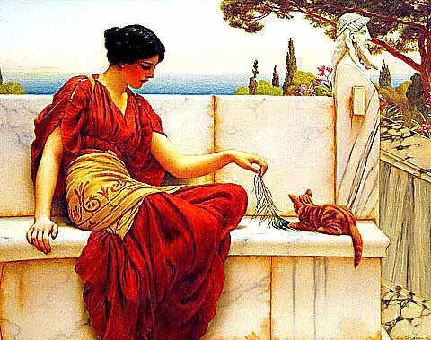 John W. Godward-Time To Play