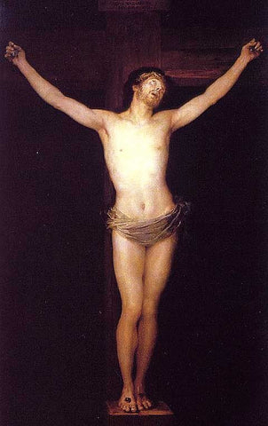 Francisco de Goya-Crucified Christ