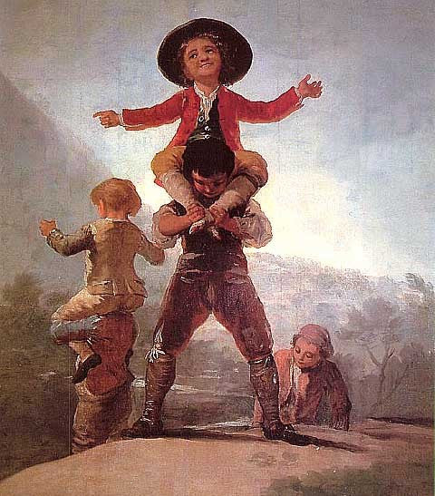 Francisco de Goya-Little Giants