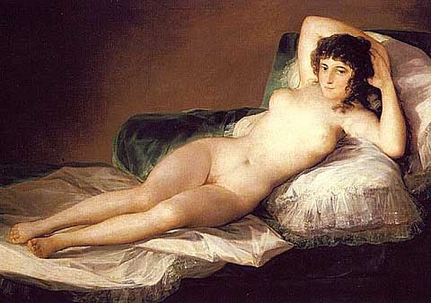 Francisco de Goya-The Nude Maja