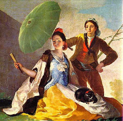 Francisco de Goya-The Parasol