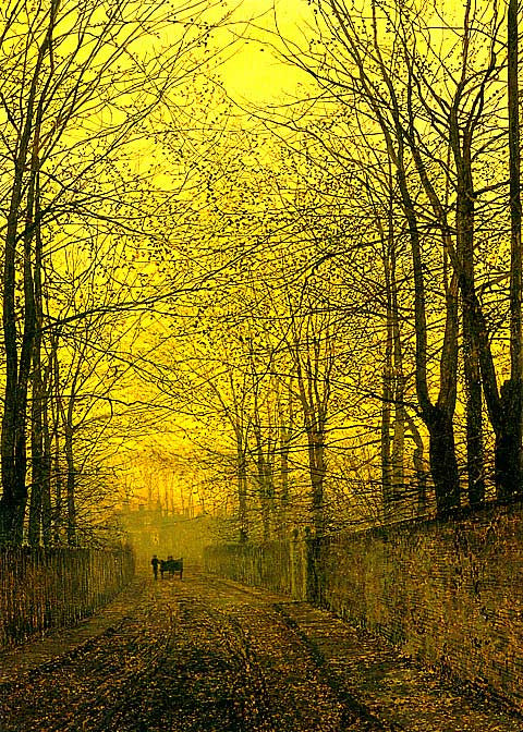John Atkinson Grimshaw-October Gold