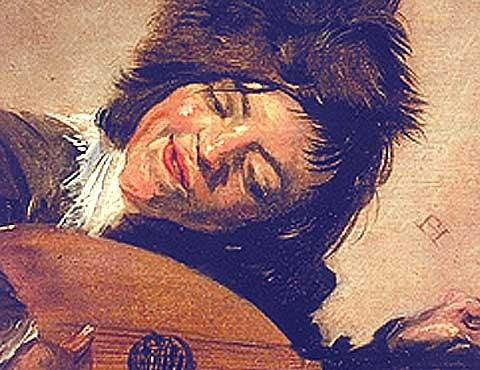 Frans Hals-The Lute Player