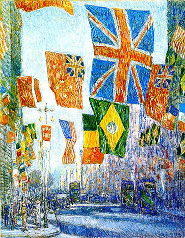 Childe Hassam-Avenue Of The Allies